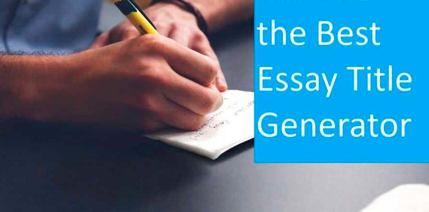 essay title generator