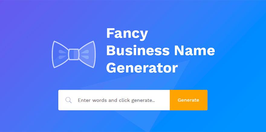 fancy name generator