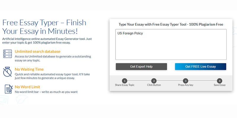 Essay Generator Free