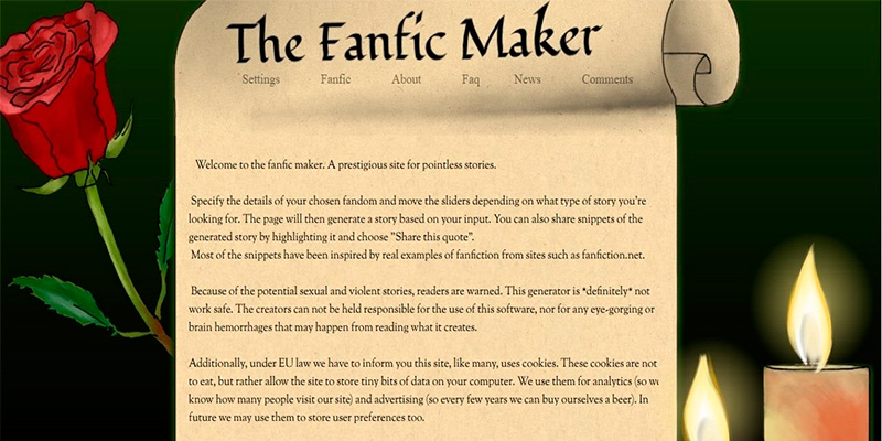 Fanfiction Generator